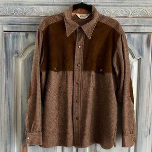 Vintage 1960's Woolrich Outdoorsman Wool Shirt